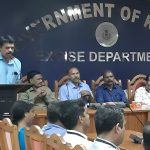 Felicitation by Sri. J. Thajudeenkutty, Excise Circle Inspector
